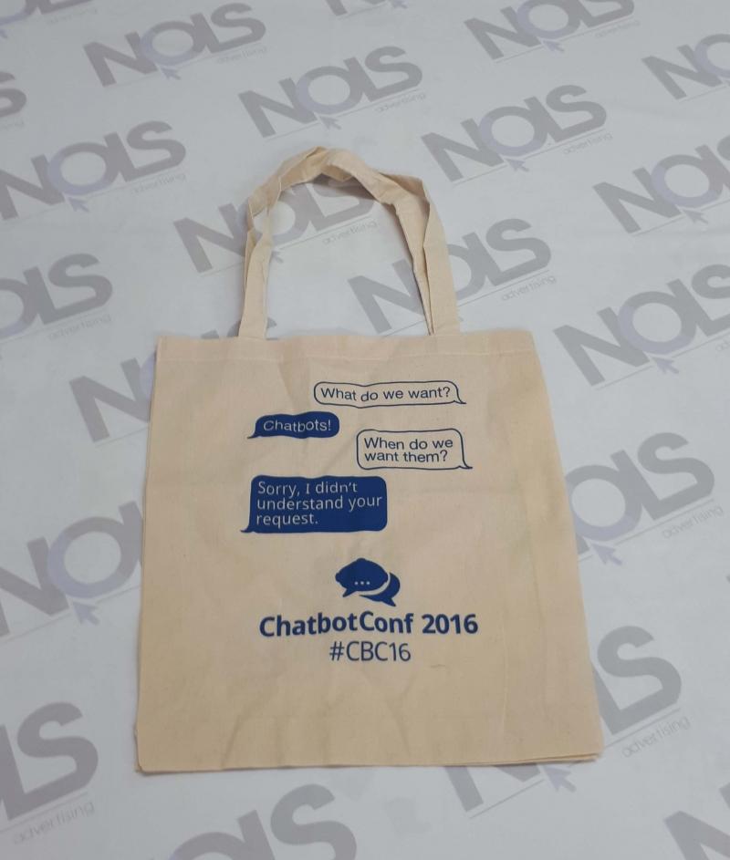 Рекламни торби органичен памук