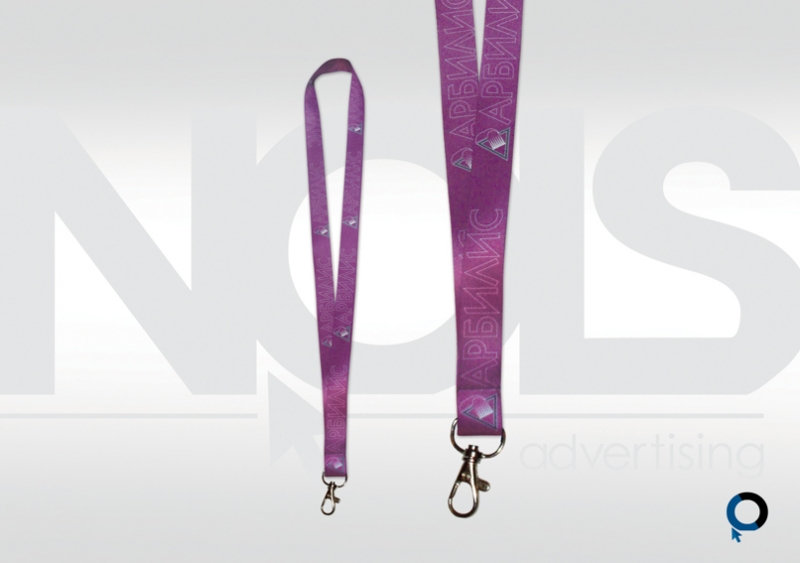 връзки за баджове,ленти за врат, печат върху плат, брандиране на текстил